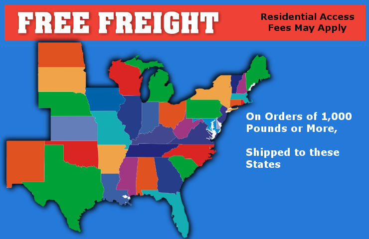 Free Shipping Map